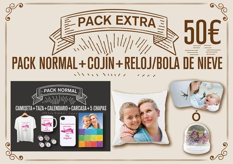 ¡¡ Pack Regalo de Navidad Extra !! Camiseta+Taza+Carcasa+5 Chapas+Calendario2016+Cojín+Reloj o Bola de nieve ¡¡¡ 50€ !!!